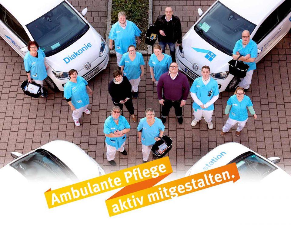 Werde Teil unseres Teams und gestalte mit uns moderne ambulante Pflege. Wir freuen uns auf Dich. Deine Diakoniestation Bretten.